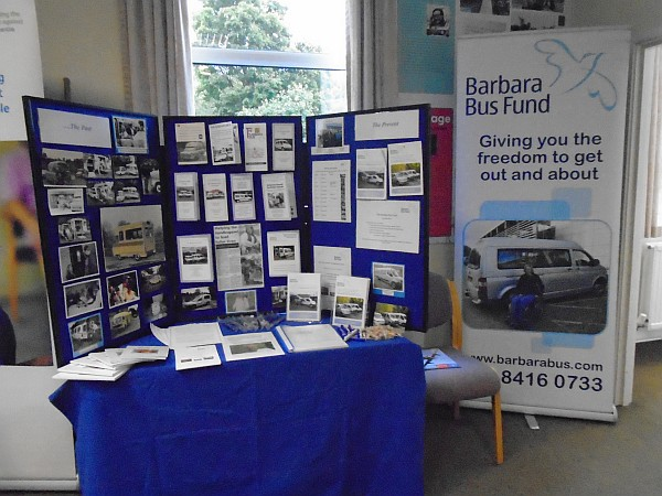 The BBF Stand at the QEF Mobility Event