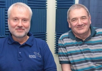 Richard Holland and Ron Laver of Brockley Radio