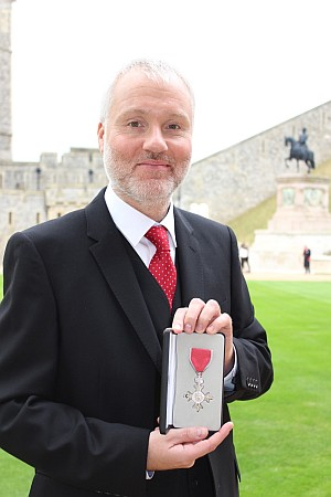 Richard Holland MBE